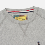 Мужская толстовка Barbour x Steve McQueen International Crew Neck Grey Marl фото- 1