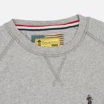 Barbour x Steve McQueen International Crew Neck Men`s Sweatshirt Grey Marl photo- 1