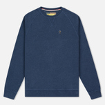 Barbour x Steve McQueen International Crew Neck Men`s Sweatshirt Indigo Marl photo- 0