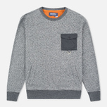 Мужская толстовка Barbour x White Mountaineering Grayling Crew Neck Charcoal фото- 0