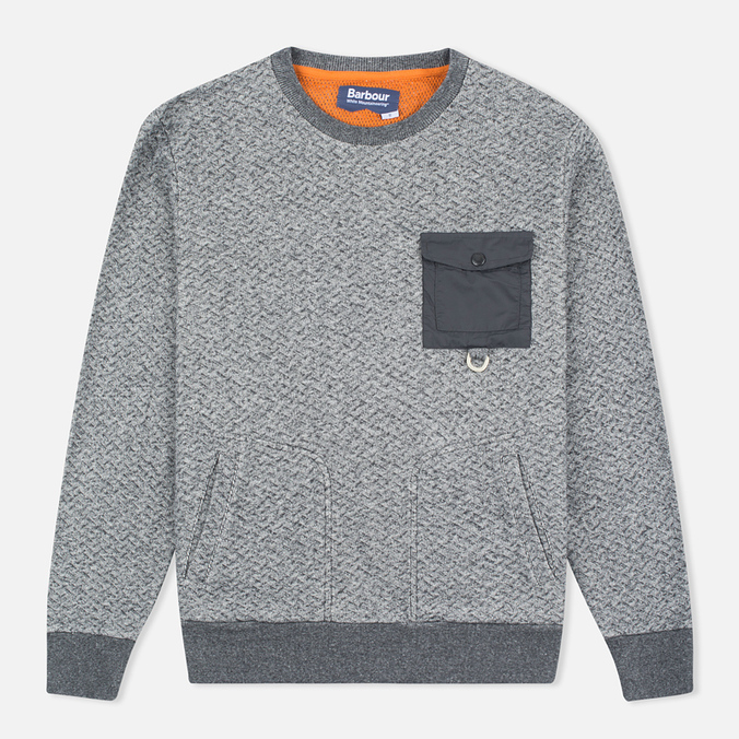 Мужская толстовка Barbour x White Mountaineering Grayling Crew Neck Charcoal