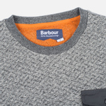 Мужская толстовка Barbour x White Mountaineering Grayling Crew Neck Charcoal фото- 1