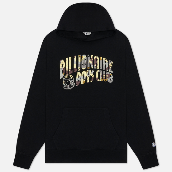 Мужская толстовка Billionaire Boys Club Camo Arch Logo Popover Hood Black