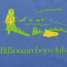 Мужская толстовка Billionaire Boys Club Campsite Pigment Dyed Crewneck Purple фото- 2