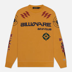 Мужская толстовка Billionaire Boys Club Code Graphic Crewneck Yellow