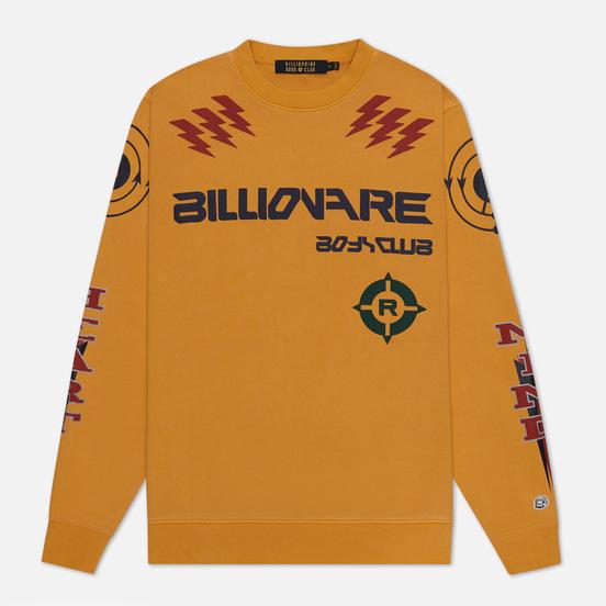 Мужская толстовка Billionaire Boys Club Code Graphic Crewneck Yellow