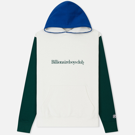Мужская толстовка Billionaire Boys Club Colour Block Popover Hoodie White