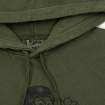Мужская толстовка Billionaire Boys Club Commander Overdyed Hoody Overdye Olive фото- 1