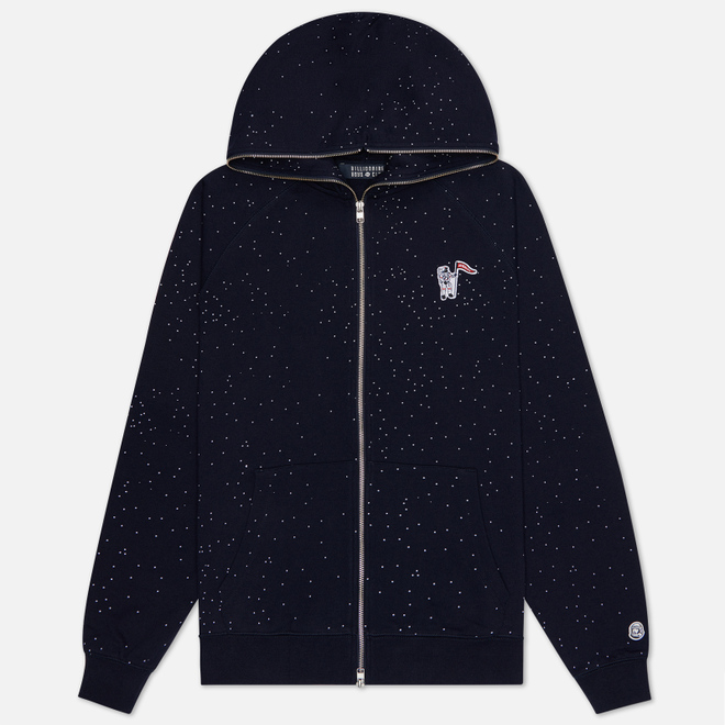 Мужская толстовка Billionaire Boys Club Deep Space Full Zip Hood Navy
