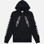Мужская толстовка Billionaire Boys Club Digital Zip-Through Hoody Black/White фото- 0