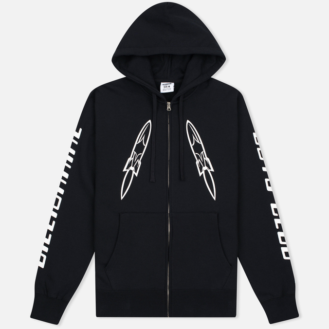 Мужская толстовка Billionaire Boys Club Digital Zip-Through Hoody Black/White