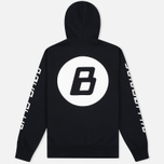 Мужская толстовка Billionaire Boys Club Digital Zip-Through Hoody Black/White фото- 3