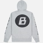 Мужская толстовка Billionaire Boys Club Digital Zip-Through Hoody Grey/Black фото- 3