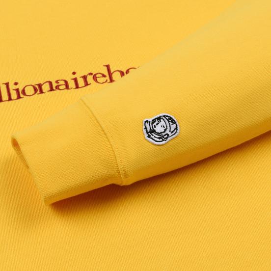 Мужская толстовка Billionaire Boys Club Embroidered Logo Crewneck Yellow