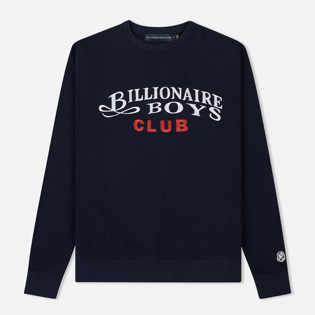 Мужская толстовка Billionaire Boys Club Embroidered Script Crewneck Navy