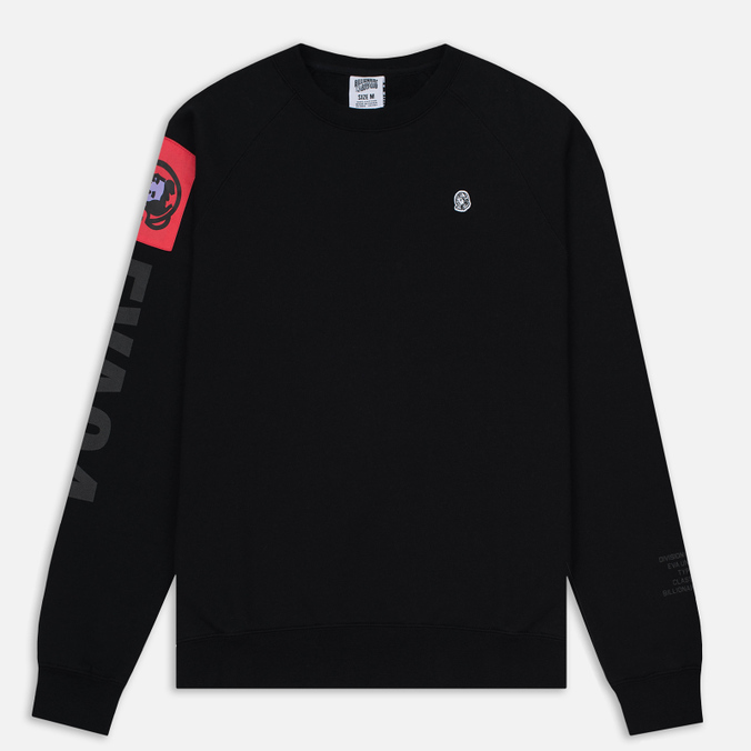 Мужская толстовка Billionaire Boys Club EVA Patch Raglan Crew Neck Black