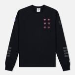 Мужская толстовка Billionaire Boys Club First Ascent Crew Neck Black/Grey фото- 0