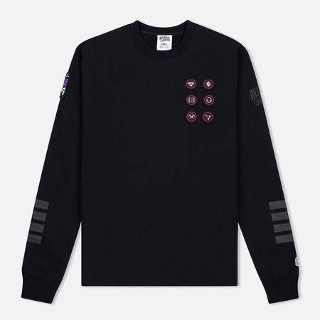 Мужская толстовка Billionaire Boys Club First Ascent Crew Neck Black/Grey