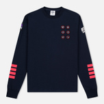 Мужская толстовка Billionaire Boys Club First Ascent Crew Neck Navy/Red фото- 0