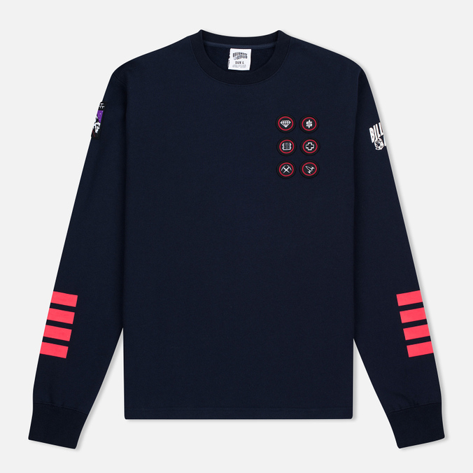 Мужская толстовка Billionaire Boys Club First Ascent Crew Neck Navy/Red