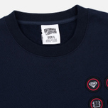 Мужская толстовка Billionaire Boys Club First Ascent Crew Neck Navy/Red фото- 1