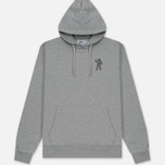 Мужская толстовка Billionaire Boys Club Incorrect Uses Pop Over Hoody Heather Grey фото- 0