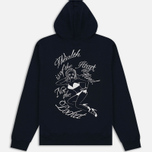 Мужская толстовка Billionaire Boys Club Nose Art Pop Over Hoody Navy фото- 5