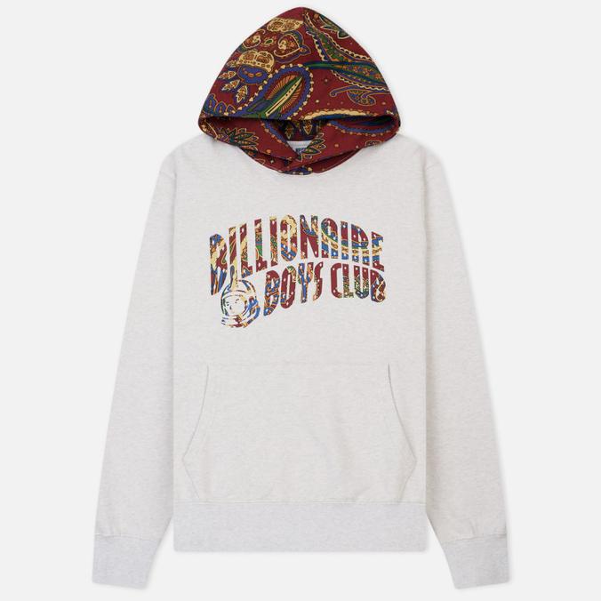Мужская толстовка Billionaire Boys Club Paisley Contrast Hoodie White