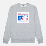 Мужская толстовка Billionaire Boys Club Processed Reversible Crewneck Grey Heather фото- 0