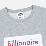 Мужская толстовка Billionaire Boys Club Processed Reversible Crewneck Grey Heather фото- 1