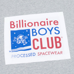 Мужская толстовка Billionaire Boys Club Processed Reversible Crewneck Grey Heather фото- 2