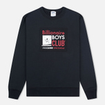 Мужская толстовка Billionaire Boys Club Processed Reversible Crewneck Black фото- 0