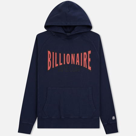 Мужская толстовка Billionaire Boys Club Racing Logo Popover Hoodie Blue