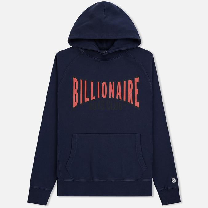Мужская толстовка Billionaire Boys Club Racing Logo Popover Hoodie Blue