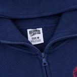 Мужская толстовка Billionaire Boys Club Rib Knit Full-Zip Hoodie Blue фото- 1