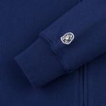 Мужская толстовка Billionaire Boys Club Rib Knit Full-Zip Hoodie Blue фото- 3