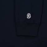 Мужская толстовка Billionaire Boys Club Script Embroidered Crew Neck Navy фото- 3