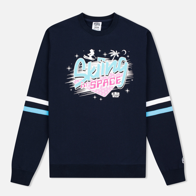 Мужская толстовка Billionaire Boys Club Skiing In Space Crew Neck Navy