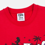 Мужская толстовка Billionaire Boys Club Skiing In Space Crew Neck Red фото- 1