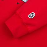 Мужская толстовка Billionaire Boys Club Skiing In Space Crew Neck Red фото- 3