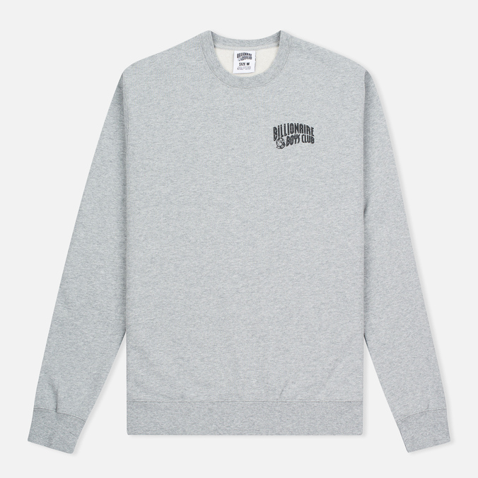Мужская толстовка Billionaire Boys Club Small Arch Logo Crew Neck Heather Grey