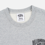 Мужская толстовка Billionaire Boys Club Small Arch Logo Crew Neck Heather Grey фото- 1