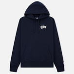 Мужская толстовка Billionaire Boys Club Small Arch Logo Hooded Navy фото- 0