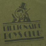 Мужская толстовка Billionaire Boys Club Space Beach Hotel Overdye Olive фото- 2