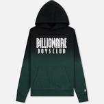 Мужская толстовка Billionaire Boys Club Straight Logo Popover Hoodie Green фото- 0