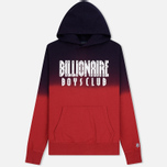 Мужская толстовка Billionaire Boys Club Straight Logo Popover Hoodie Red фото- 0