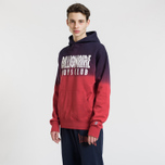 Мужская толстовка Billionaire Boys Club Straight Logo Popover Hoodie Red фото- 3