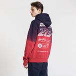 Мужская толстовка Billionaire Boys Club Straight Logo Popover Hoodie Red фото- 4