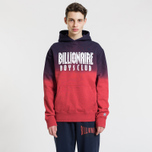 Мужская толстовка Billionaire Boys Club Straight Logo Popover Hoodie Red фото- 2