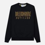 Мужская толстовка Billionaire Boys Club Straight Logo Reversible Crewneck Black фото- 0
